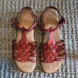 Bass Sunjuns leather sandals